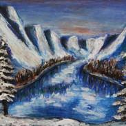 <Landscape#6> 16x12 inches Soft pastel