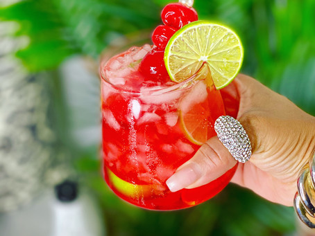 "Tipsy Tips ""Cherrypop"" Mocktail Recipe"