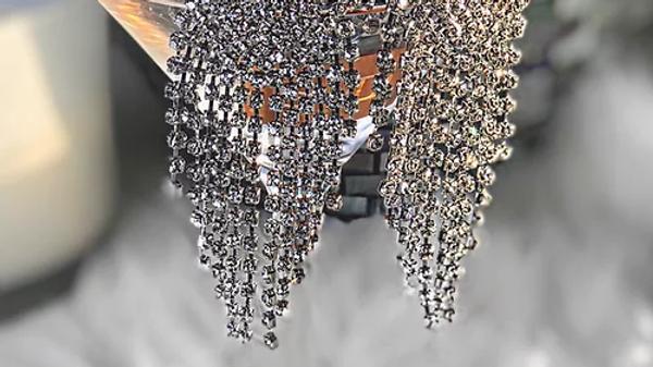 """""""Drama"""" Cascade Earrings"""