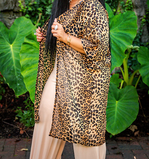 """WildSide"" Cardigan Coverup"