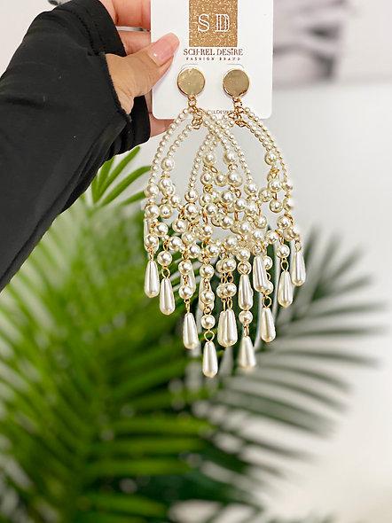 """""""Pearlette"""" Earrings"""