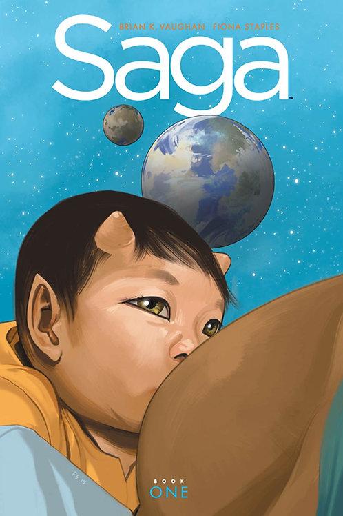 Saga Book 1 (Brian K. Vaughan & Fiona Staples)