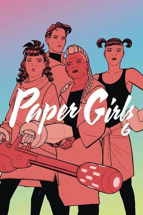 Paper Girls Vol 6 (Brian K. Vaughan & Cliff Chiang)