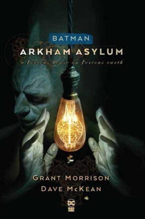 Batman: Arkham Asylum(Grant Morrison & Dave McKean)