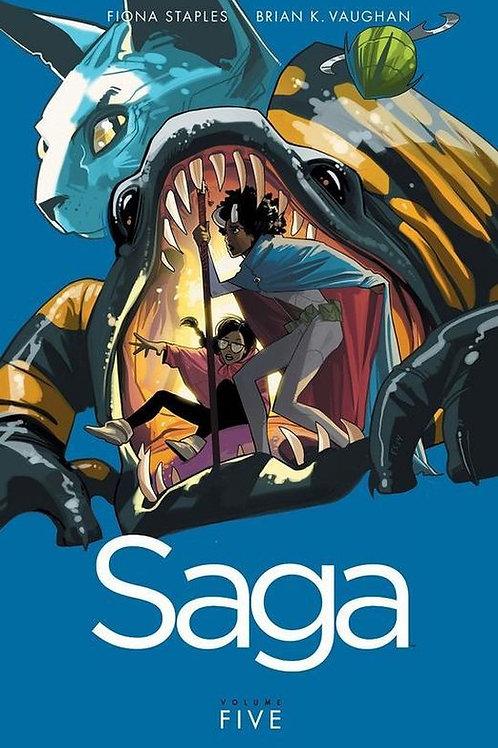 Saga Vol5 (Brian K. Vaughan & Fiona Staples)