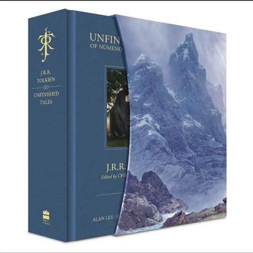 Unfinished Tales (J. R. R.Tolkien, Christopher Tolkien, Alan Lee, Ted Nasmith)