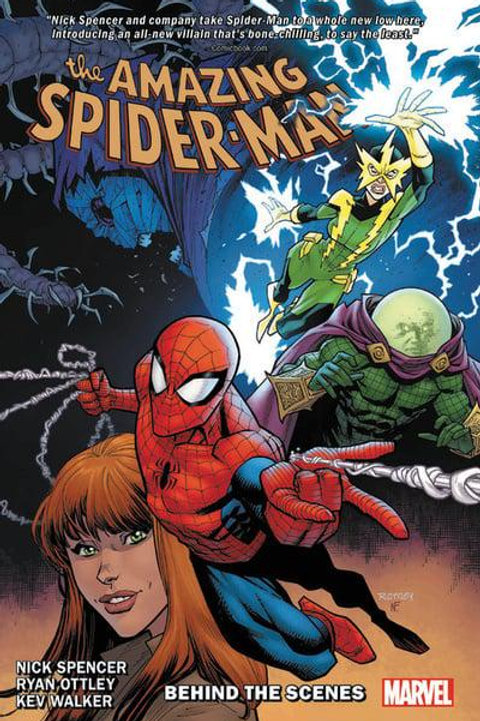 The Amazing Spider-ManVol5: Behind The Scenes (Nick Spencer &Ryan Ottley)