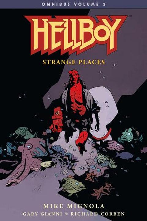 Hellboy Omnibus Vol2: Strange Places (Mike Mignola &Gary Gianni)