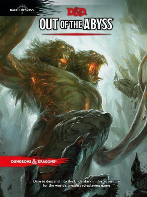 Out of the Abyss - Dungeons & Dragons