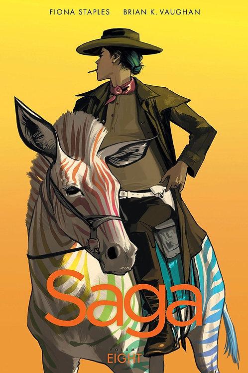 Saga Vol8 (Brian K. Vaughan & Fiona Staples)