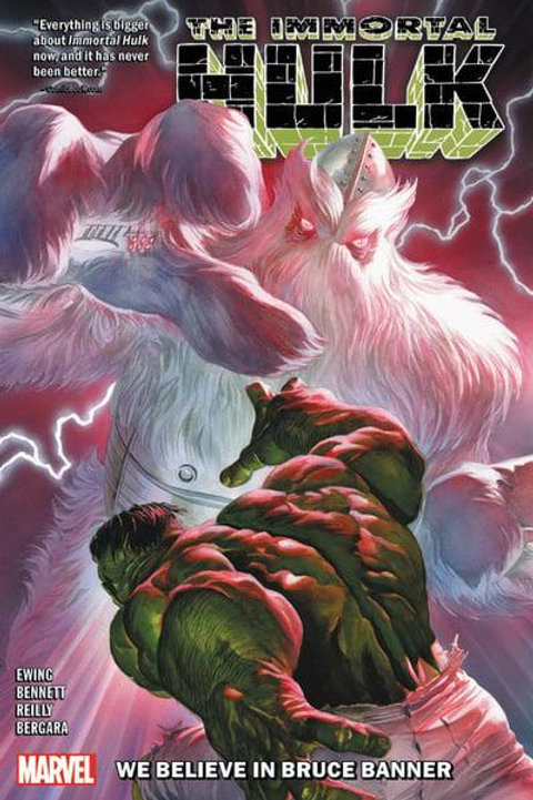 The Immortal Hulk Vol6: We Believe In Bruce Banner (Al Ewing & Joe Bennett)