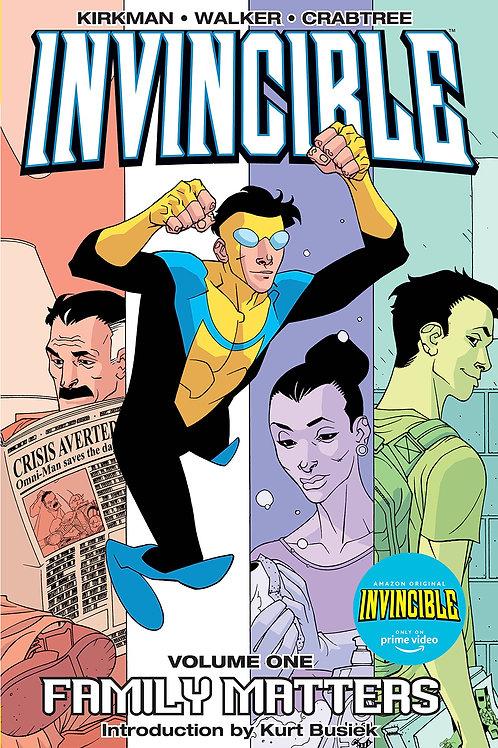 Invincible Vol1: Family Matters (Robert Kirkman & Cory Walker)