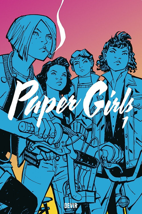 Paper Girls Vol 1 (Brian K. Vaughan & Cliff Chiang)