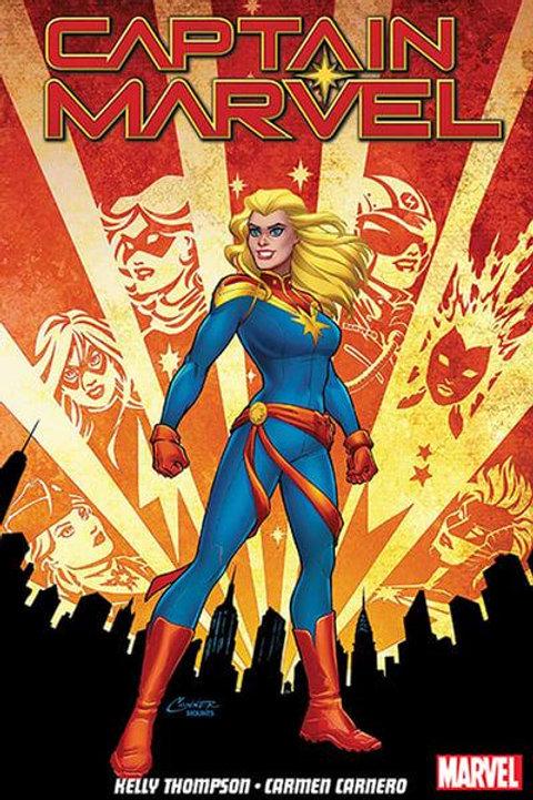Captain MarvelVol1: Re-Entry (Kelly Thompson & Carmen Carnero)
