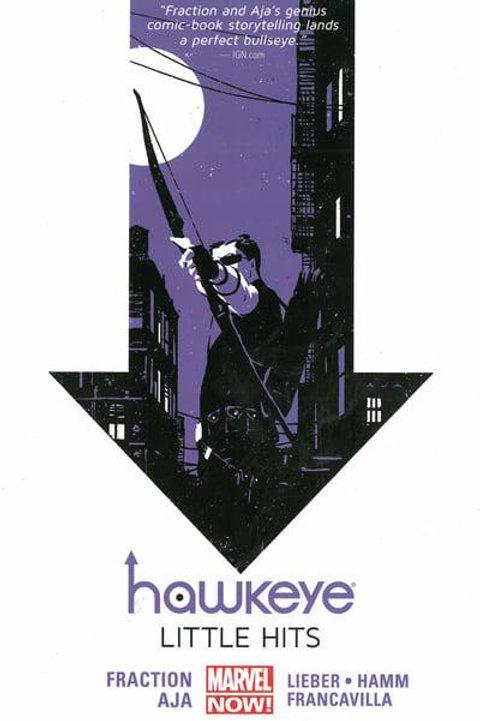 HawkeyeVol2: Little Hits (Matt Fraction &Javier Pulido)