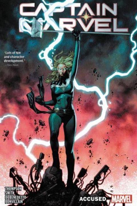 Captain Marvel Vol4: Accused (Kelly Thompson & Francesco Manna)