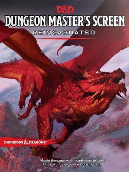 D & D Dungeon Master's Screen Reincarnated