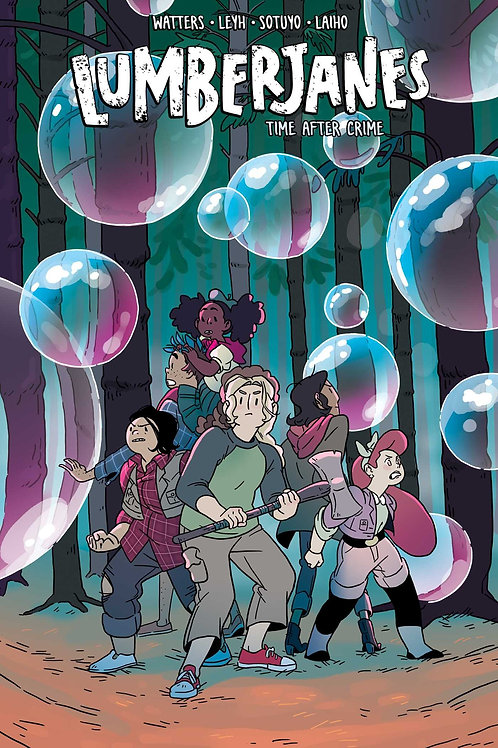 Lumberjanes Vol11: Time After Crime (Shannon Watters & Kat Leyh)