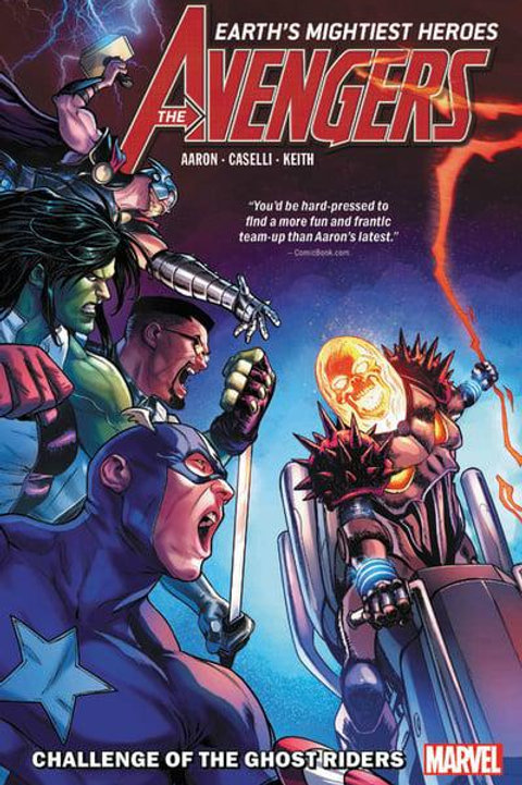 Avengers Vol5: Challenge Of The Ghost Riders (Jason Aaron & Stefano Caselli)