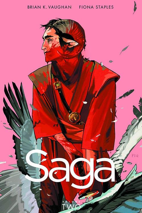 Saga Vol2 (Brian K. Vaughan & Fiona Staples)
