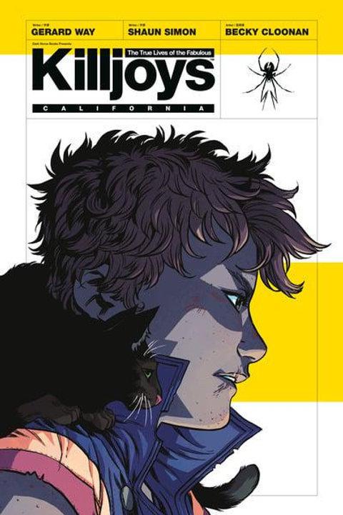 True Lives Of The Fabulous Killjoys: California (Gerard Way & Shaun Simon)