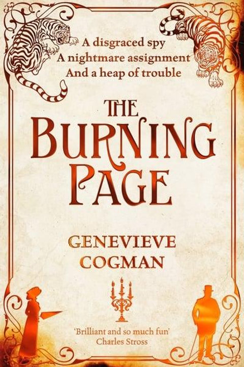 The Burning Page (Genevieve Cogman)