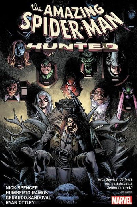 The Amazing Spider-Man Vol4: Hunted (Nick Spencer &Ryan Ottley)