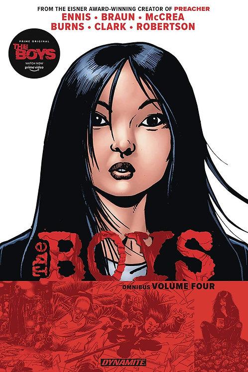 The Boys Omnibus Vol4 (Garth Ennis &Darick Robertson)