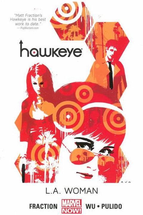 HawkeyeVol3: L.A. Woman (Matt Fraction, Javier Pulido & Annie Wu)