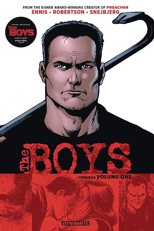 The Boys Omnibus Vol1 (Garth Ennis & Darick Robertson)
