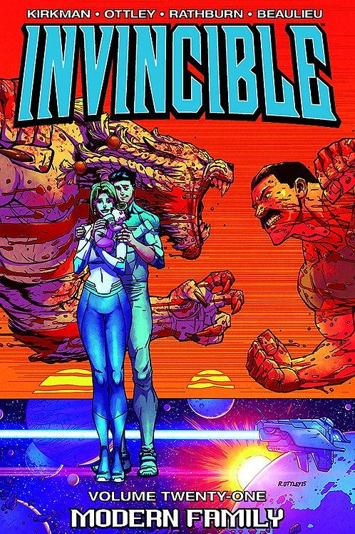 Invincible Vol21: Modern Family (Robert Kirkman &Ryan Ottley)