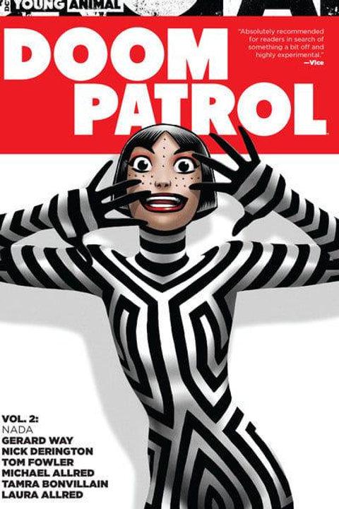 Doom Patrol Vol2: Nada(Gerard Way & Nick Derington)