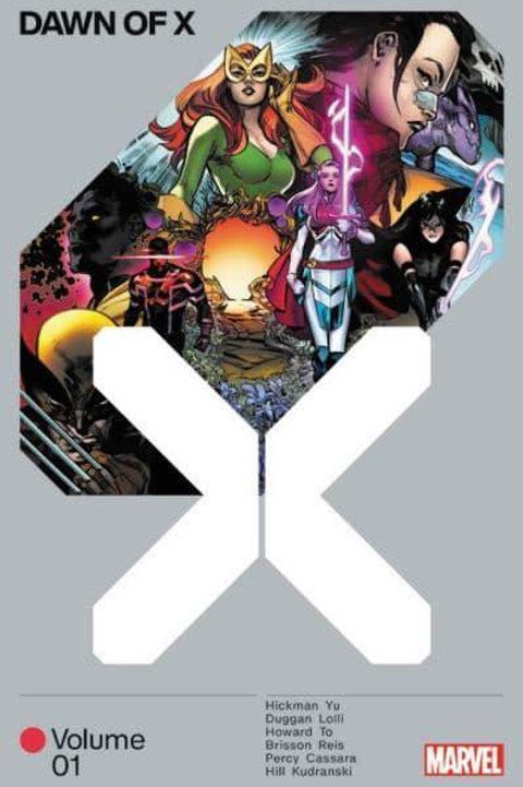 Dawn Of X Vol1 (Jonathan Hickman & Leinil Francis Yu)