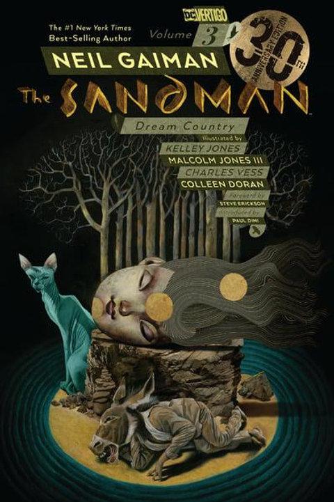 The Sandman Vol3: Dream Country (Neil Gaiman & Kelley Jones)