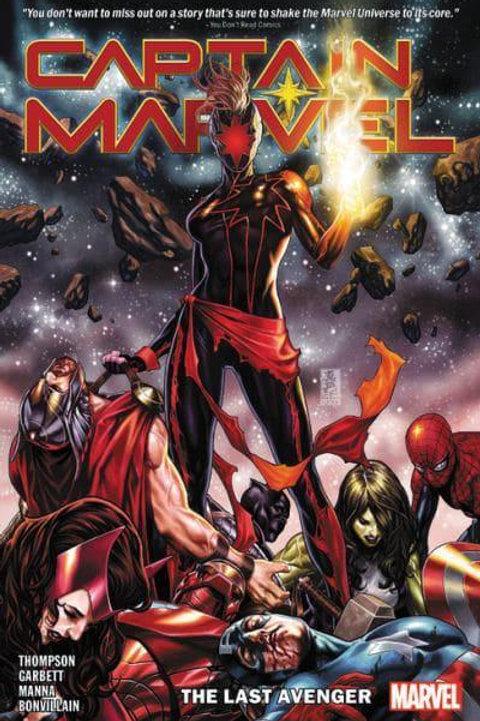 Captain MarvelVol 3: The Last Avenger (Kelly Thompson & Lee Garbett)