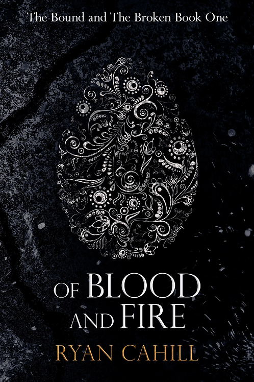 Of Blood and Fire + Map (Ryan Cahill)