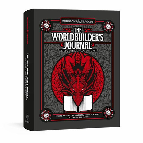 Worldbuilder's Journal to Legendary Adventures