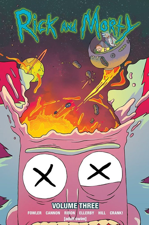 Rick & Morty Vol 3 (Tom Fowler & C.J. Cannon)