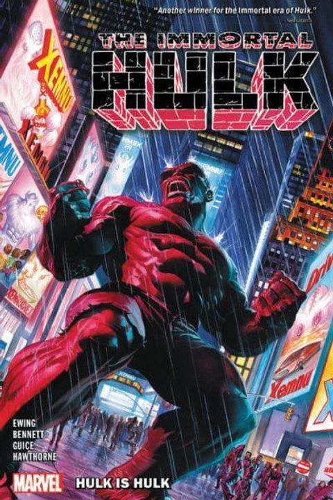 The Immortal Hulk Vol7: Hulk Is Hulk (Al Ewing & Joe Bennett)