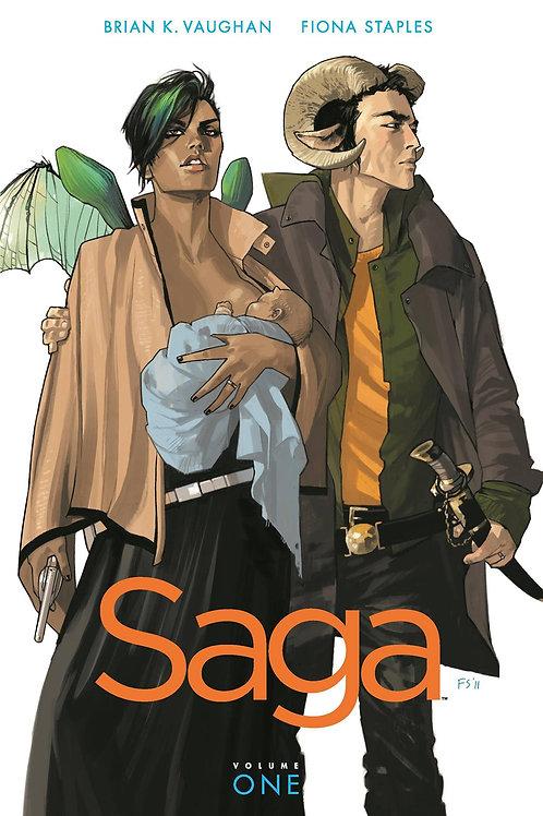 Saga Vol1 (Brian K. Vaughan & Fiona Staples)