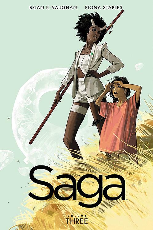 Saga Vol3 (Brian K. Vaughan & Fiona Staples)