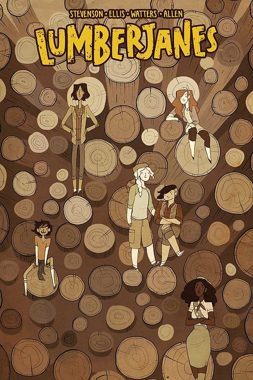 Lumberjanes Vol4: Out Of Time (Noelle Stevenson & Grace Ellis)