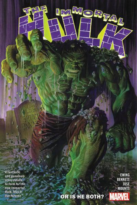 The Immortal Hulk Vol1: Or Is He Both? (Al Ewing & Joe Bennett)