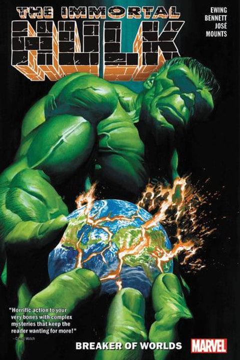 The Immortal Hulk Vol5: Breaker Of Worlds (Al Ewing & Joe Bennett)