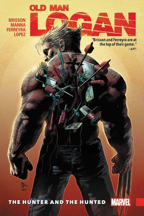 Old Man Logan Vol9: The Hunter And The Hunted (Ed Brisson & Francesco Manna)
