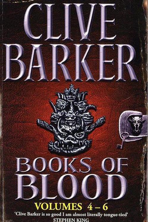 Books Of Blood Omnibus: Vol 4-6 (Clive Barker)