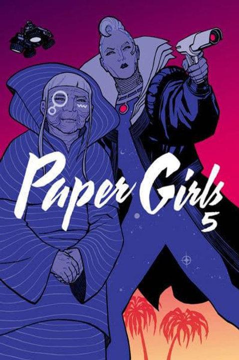 Paper Girls Vol 5 (Brian K. Vaughan & Cliff Chiang)