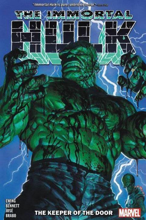 The Immortal Hulk Vol8: The Keeper Of The Door (Al Ewing & Joe Bennett)