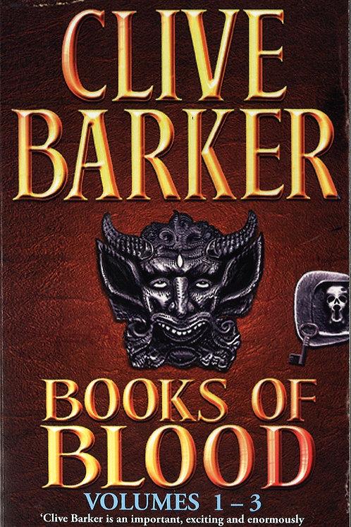 Books Of Blood Omnibus: Vol 1-3 (Clive Barker)
