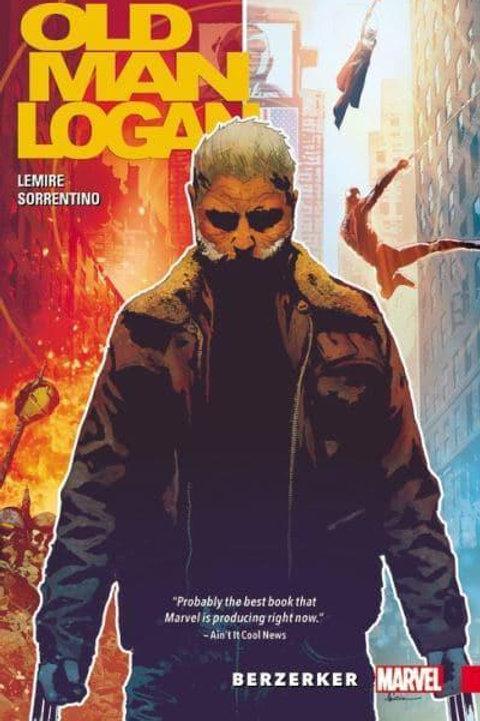 Old Man LoganVol1: Berzerker (Jeff Lemire & Andrea Sorrentino)